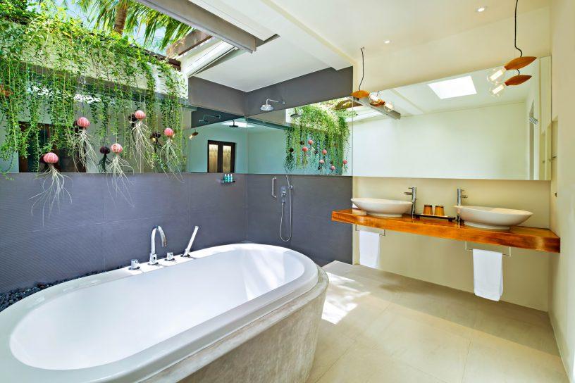 W Maldives Luxury Resort - Fesdu Island, Maldives - Tropical Beach House Bathroom