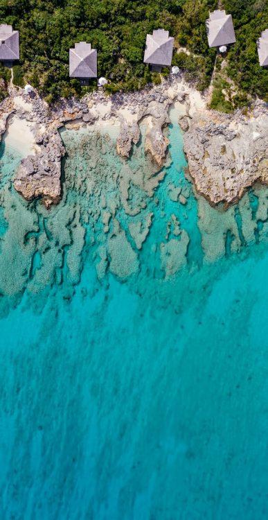 Amanyara Luxury Resort - Providenciales, Turks and Caicos Islands - Oceanfront Pavilion Aerial