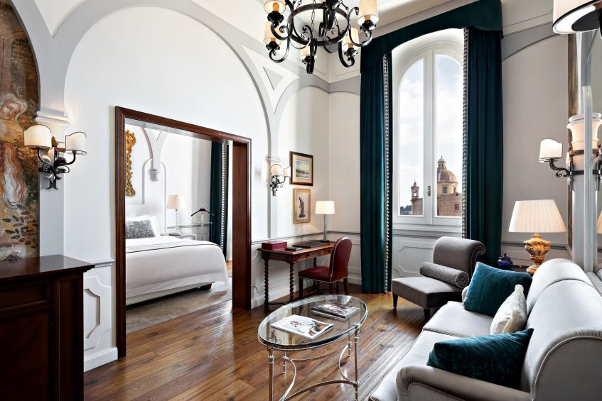 The St. Regis Florence Luxury Hotel - Florence, Italy - Junior Suite Arno