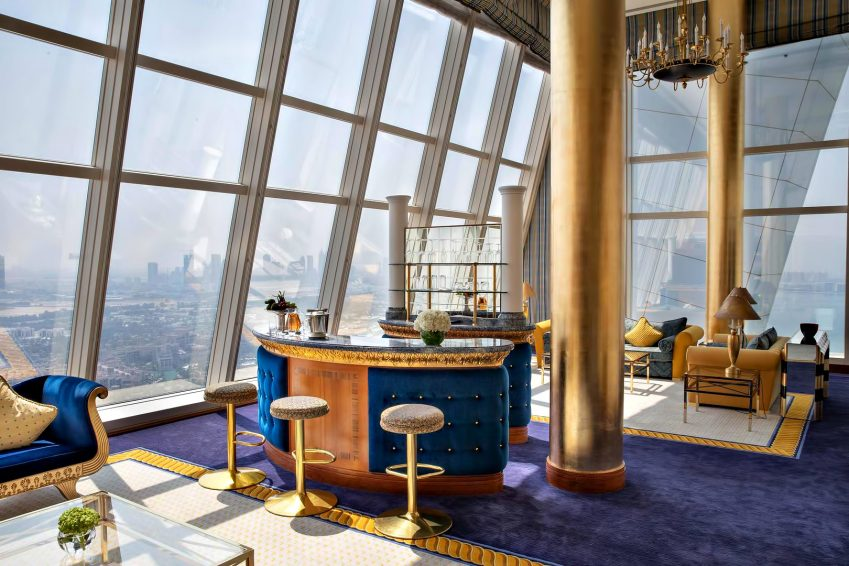 Burj Al Arab Luxury Hotel - Jumeirah St, Dubai, UAE - Club Suite