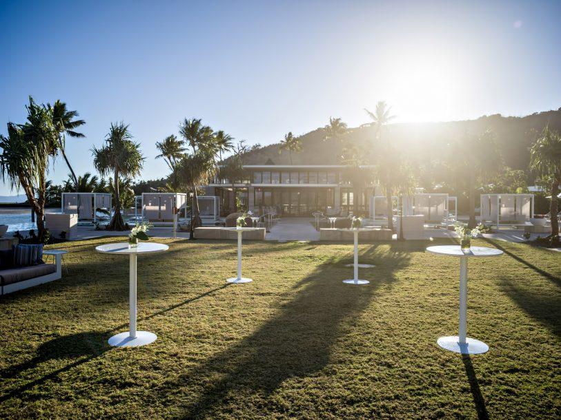 InterContinental Hayman Island Resort - Whitsunday Islands, Australia - Bam Bam Restaurant Exterior Cocktail Area