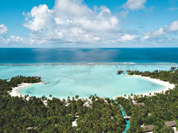 One&Only Reethi Rah Luxury Resort - North Male Atoll, Maldives - Resort Aerial View