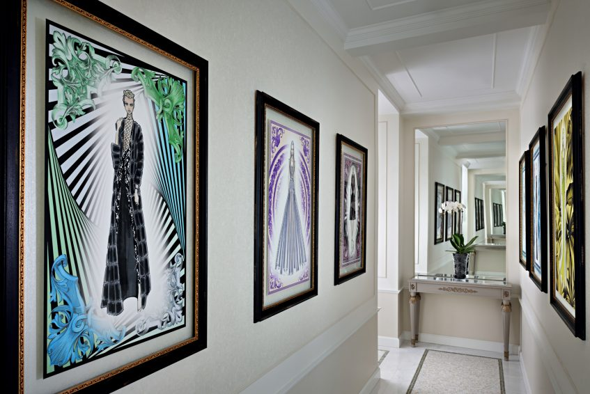 Palazzo Versace Dubai Hotel - Jaddaf Waterfront, Dubai, UAE - Imperial Suite Hallway