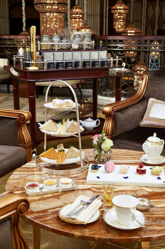 The St. Regis Abu Dhabi Luxury Hotel - Abu Dhabi, United Arab Emirates - Tea Lounge