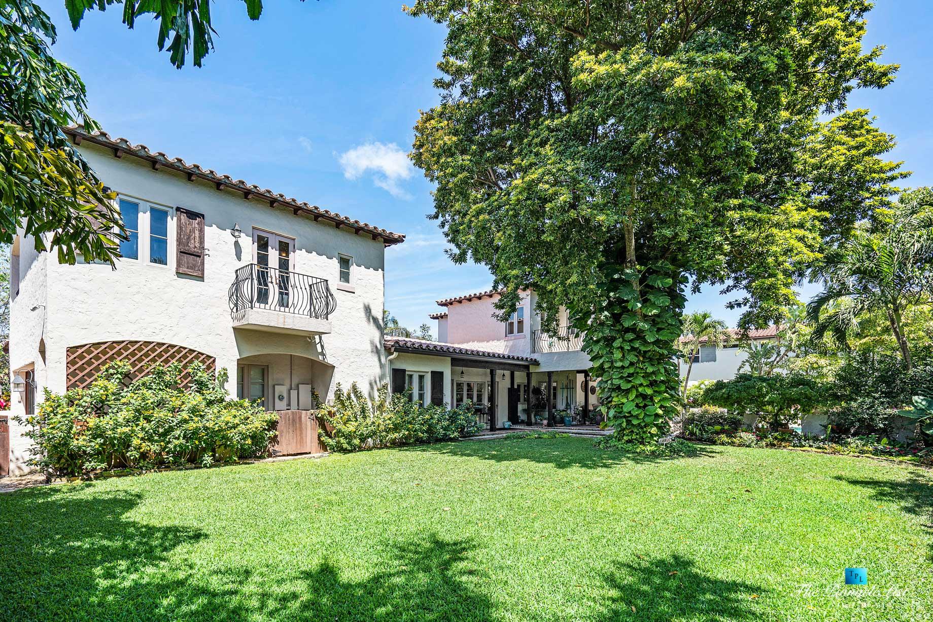 888 Oleander St, Boca Raton, FL, USA – Luxury Real Estate – Old Floresta Estate Home – Backyard