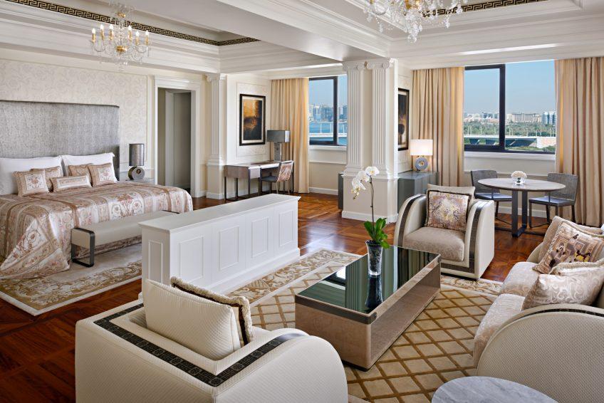 Palazzo Versace Dubai Hotel - Jaddaf Waterfront, Dubai, UAE - Modern Imperial Suite Bedroom