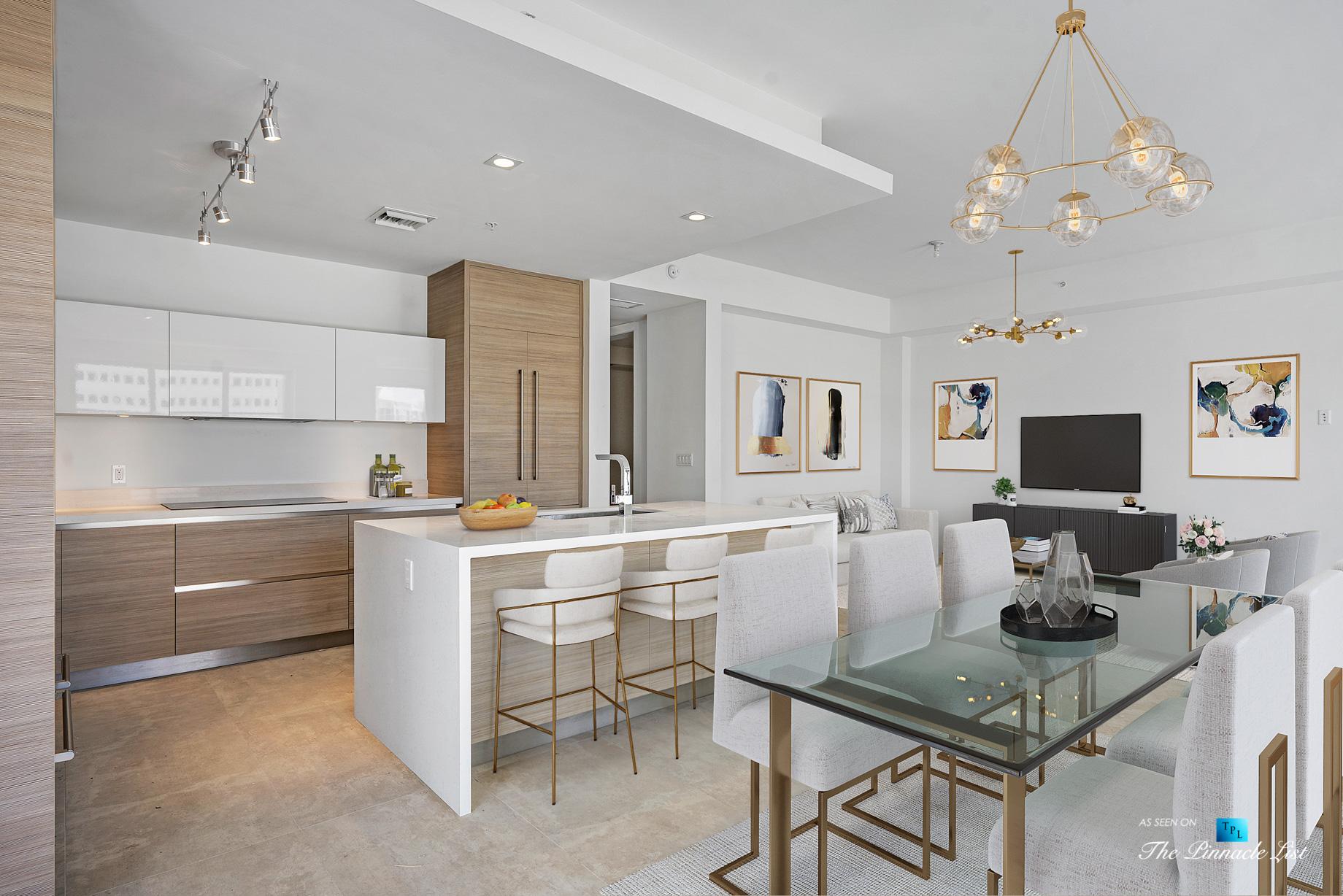 Boca Tower 155 Luxury Condo - Unit 416, 155 E Boca Raton Rd, Boca Raton, FL, USA - Kitchen and Dining Area