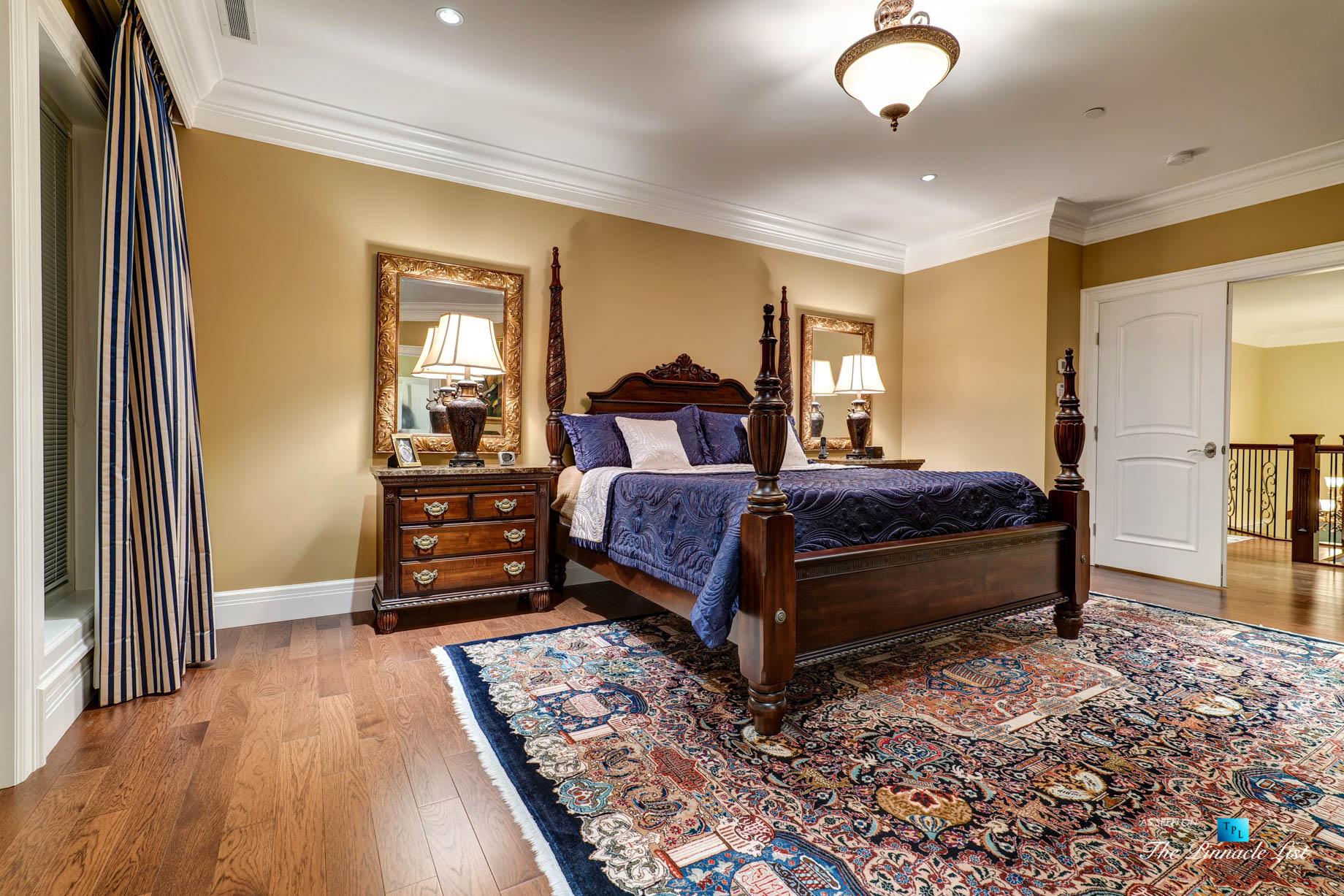 Pinnacle Ridge Luxury Estate - 2057 Ridge Mountain Dr, Anmore, BC, Canada - Master Bedroom