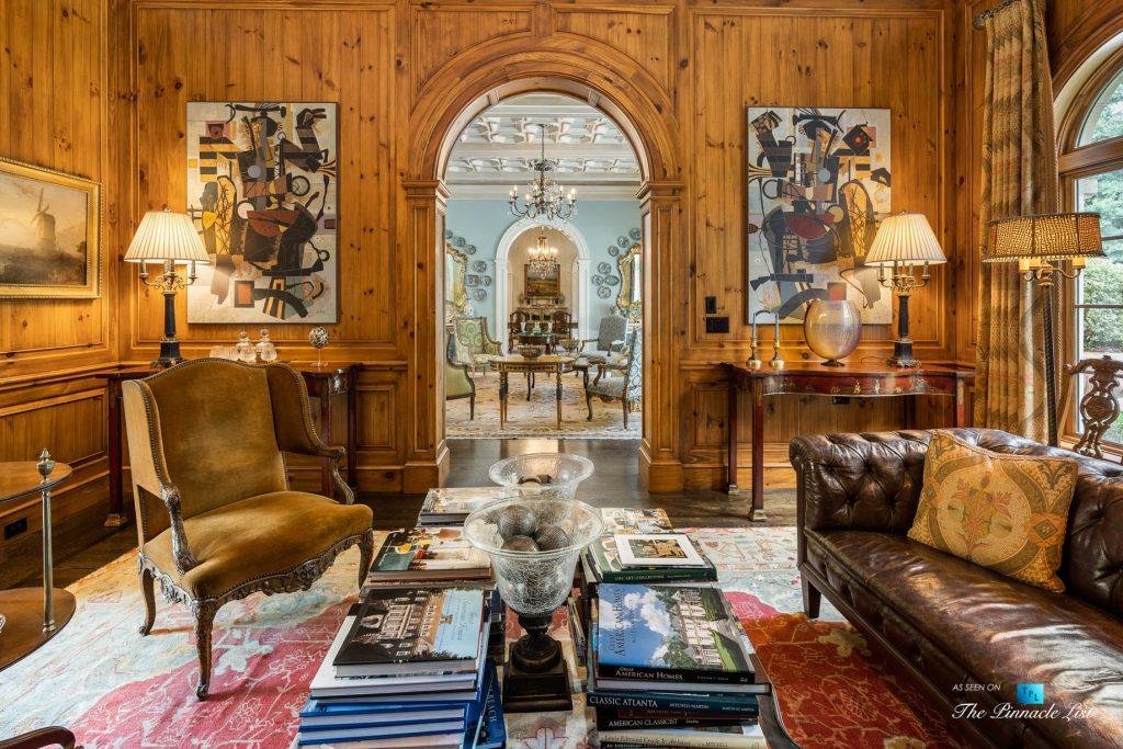 Tuxedo Park Mediterranean Estate - 439 Blackland Rd NW, Atlanta, GA, USA - Drawing Room