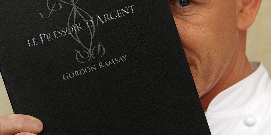 InterContinental Bordeaux Le Grand Hotel - Bordeaux, France - Le Pressoir D'Argent Gordon Ramsay