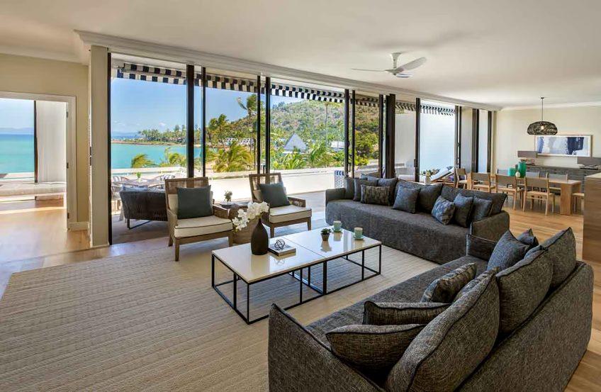 InterContinental Hayman Island Resort - Whitsunday Islands, Australia - Three Bedroom Hayman Suite Living Room