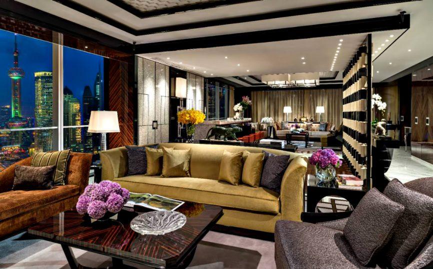 Regent Shanghai Pudong Luxury Hotel - Shanghai, China - Grand Suite