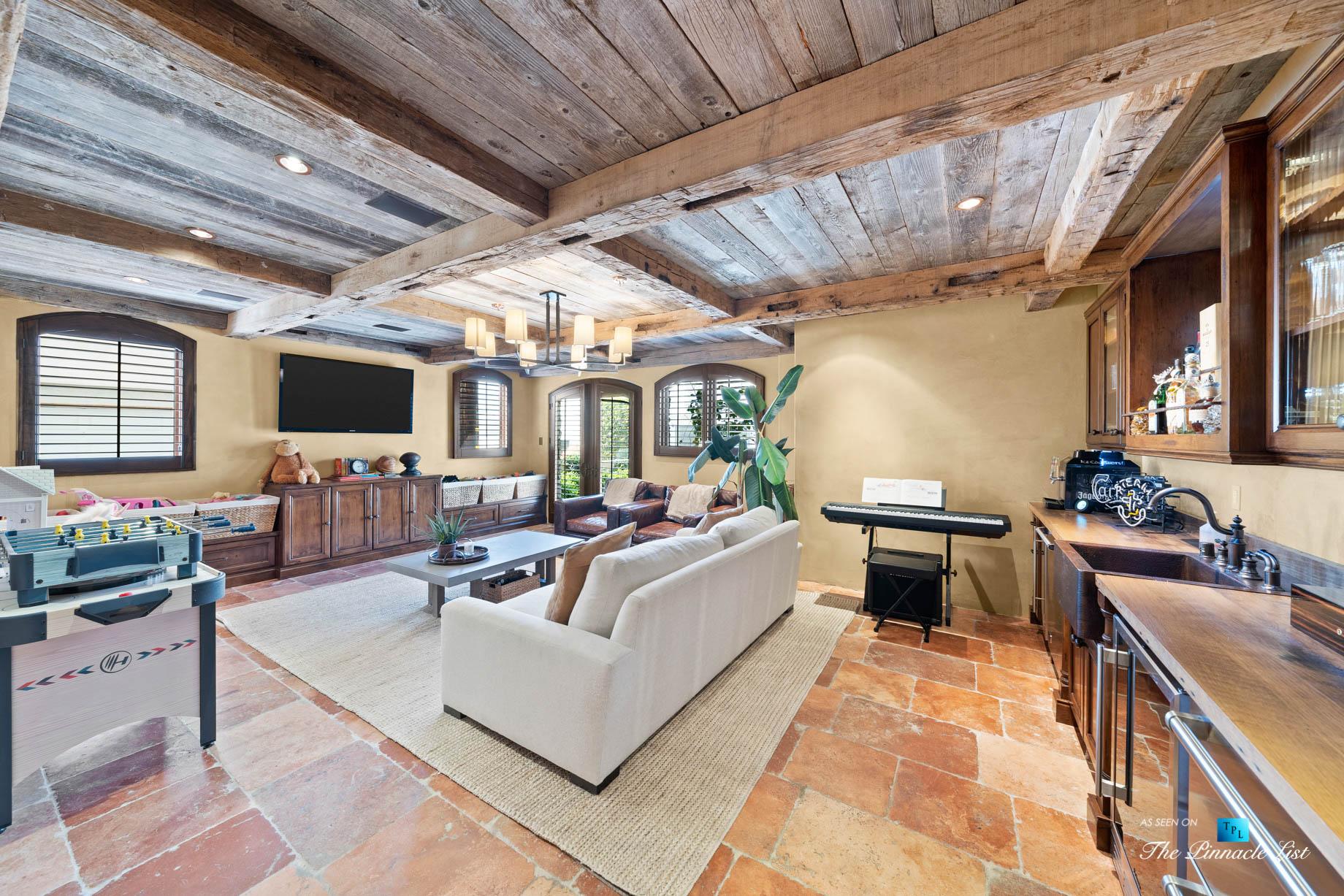 216 7th St, Manhattan Beach, CA, USA – Luxury Real Estate – Coastal Villa Home – Recreation Room