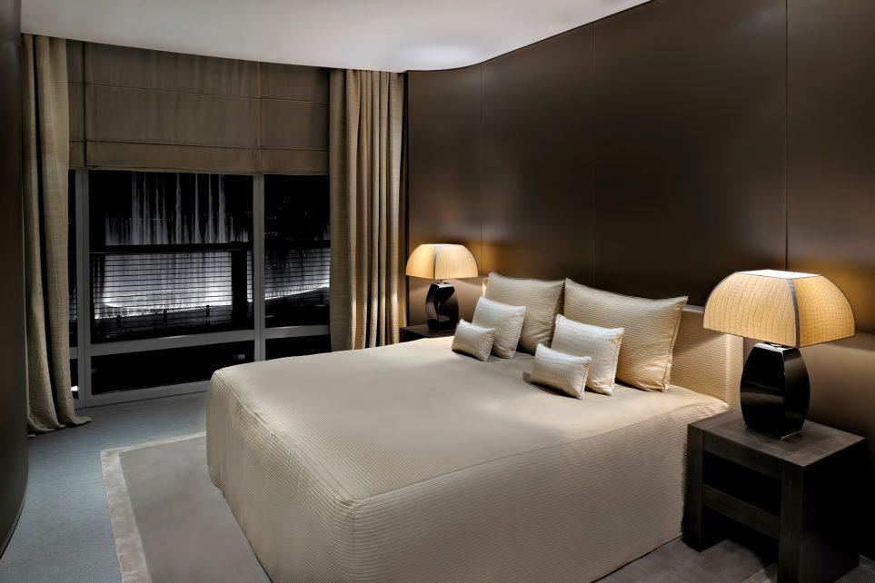 Armani Hotel Dubai - Burj Khalifa, Dubai, UAE - Armani Fountain Suite