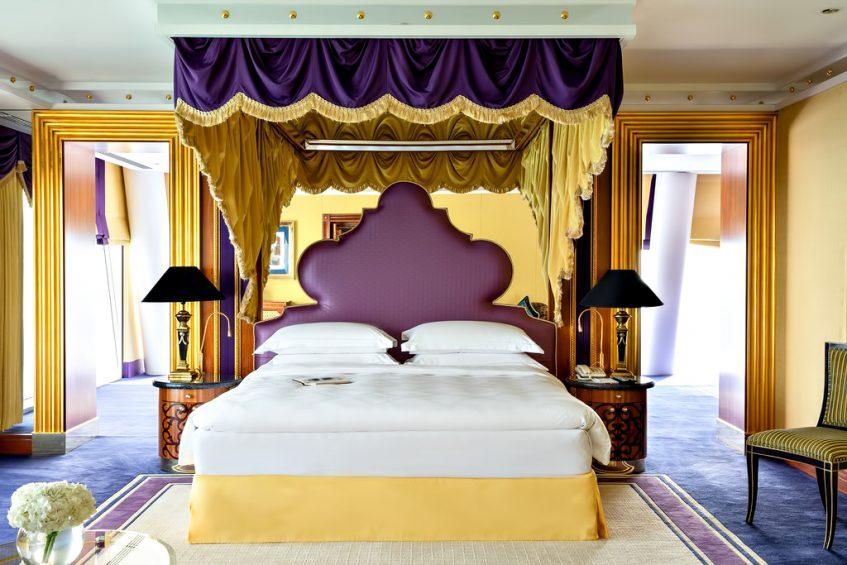 Burj Al Arab Luxury Hotel - Jumeirah St, Dubai, UAE - Diplomatic Suite Bedroom