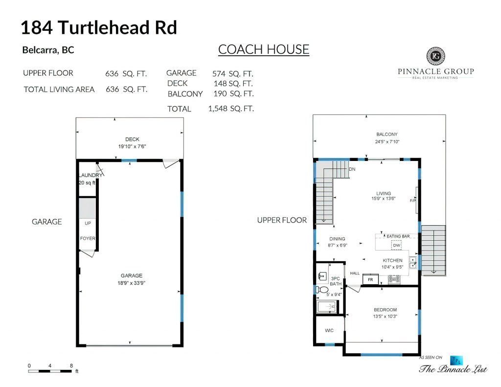 184 Turtlehead Rd, Belcarra, BC, Canada - Floor Plans