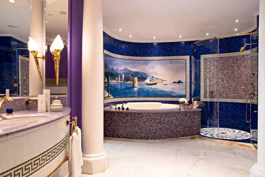 Burj Al Arab Luxury Hotel - Jumeirah St, Dubai, UAE - Diplomatic Suite Bathroom