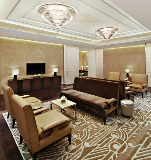 The St. Regis Tianjin Luxury Hotel - Tianjin, China - Jin VIP Room