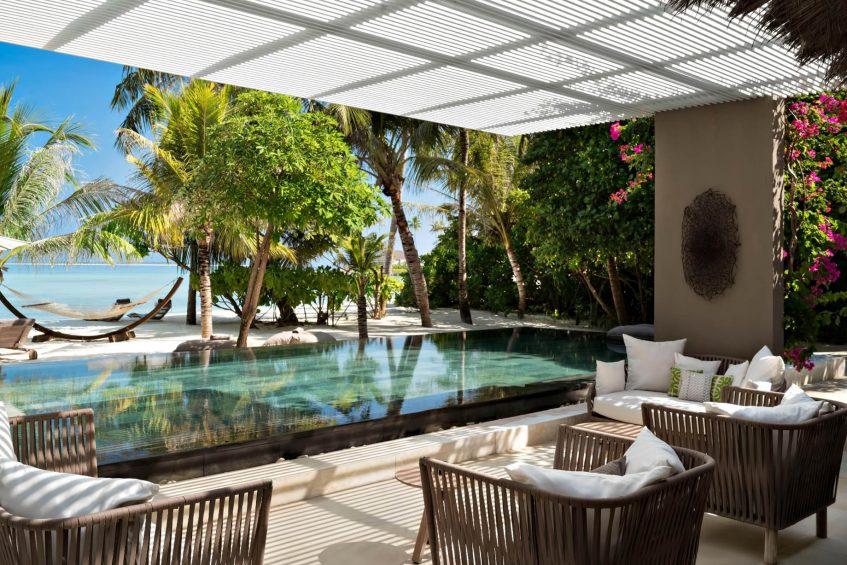 Cheval Blanc Randheli Luxury Resort - Noonu Atoll, Maldives - Infinity Pool Deck