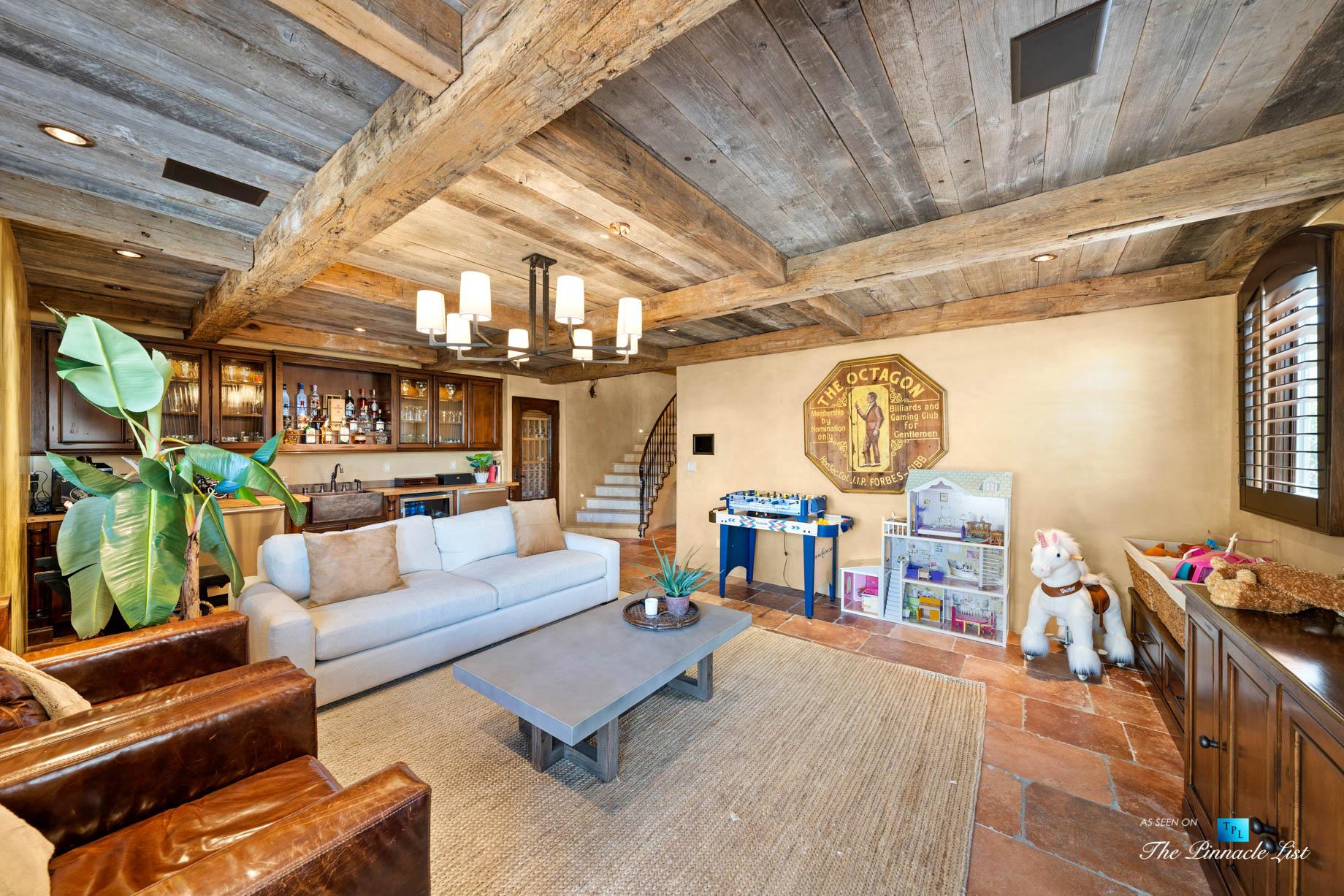 216 7th St, Manhattan Beach, CA, USA - Luxury Real Estate - Coastal Villa Home - Recreation Room Bar