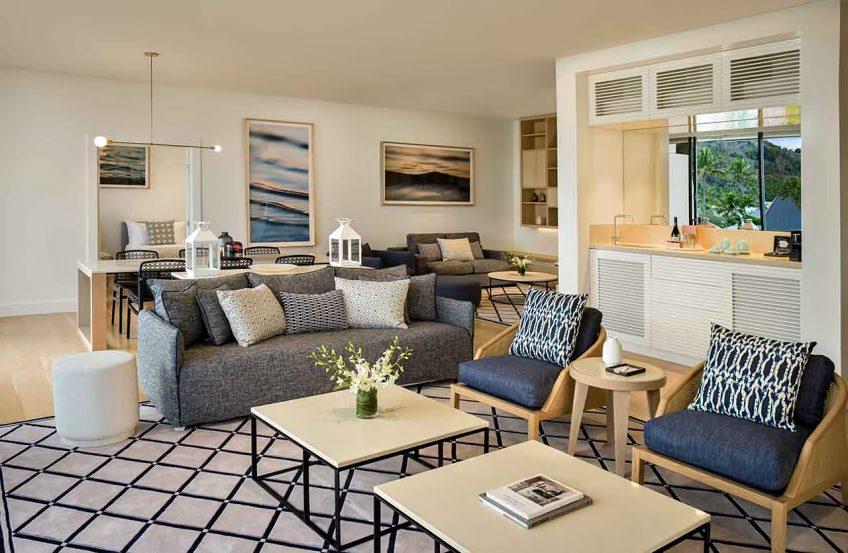 InterContinental Hayman Island Resort - Whitsunday Islands, Australia - Two Bedroom Hayman Suite Hero Lounge Area