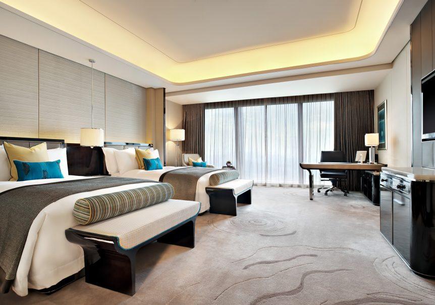 The St. Regis Shenzhen Luxury Hotel - Shenzhen, China - Grand Deluxe Room Twin Beds