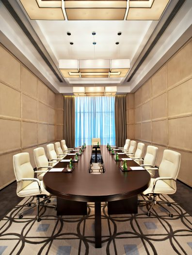 The St. Regis Tianjin Luxury Hotel - Tianjin, China - Private Boardroom