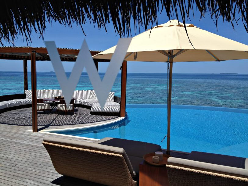 W Maldives Luxury Resort - Fesdu Island, Maldives - Overwater Lounge