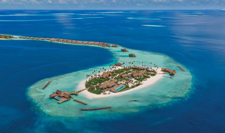 Waldorf Astoria Maldives Ithaafushi Luxury Resort - Ithaafushi Island, Maldives - Resort Private Island Aerial