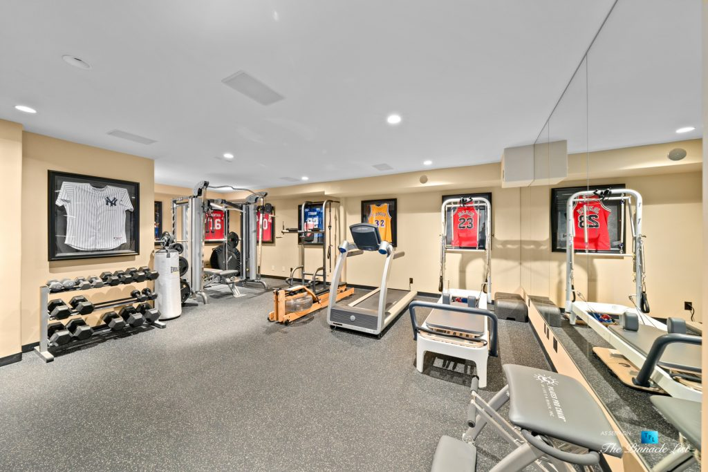 216 7th St, Manhattan Beach, CA, USA - Luxury Real Estate - Coastal Villa Home - Basement Gym