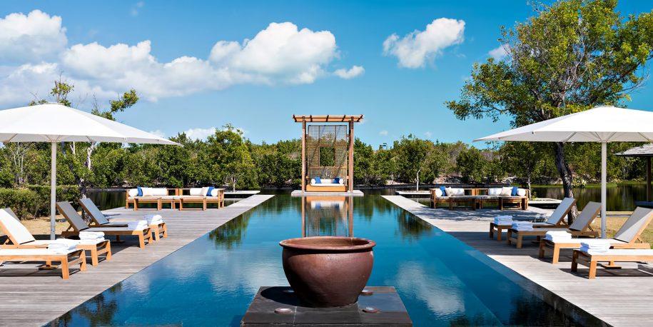 Amanyara Luxury Resort - Providenciales, Turks and Caicos Islands - 4 Bedroom Tranquility Villa Infinity Pool Deck