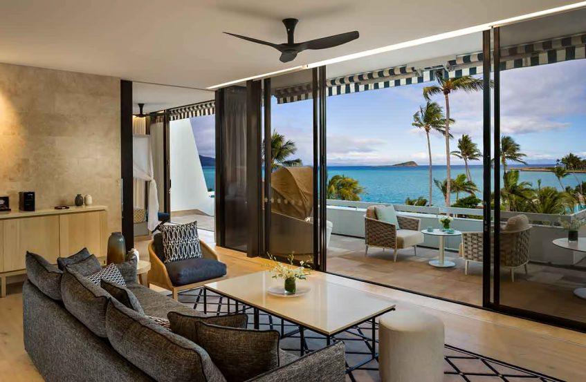 InterContinental Hayman Island Resort - Whitsunday Islands, Australia - One Bedroom Hayman Suite Lounge Area