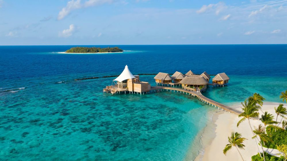 The Nautilus Maldives Luxury Resort - Thiladhoo Island, Maldives - Zeytoun Restaurant Aerial