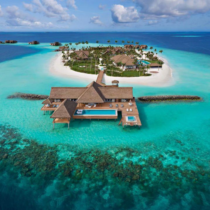 Waldorf Astoria Maldives Ithaafushi Luxury Resort - Ithaafushi Island, Maldives - Private Island Two Bedroom Overwater Villa