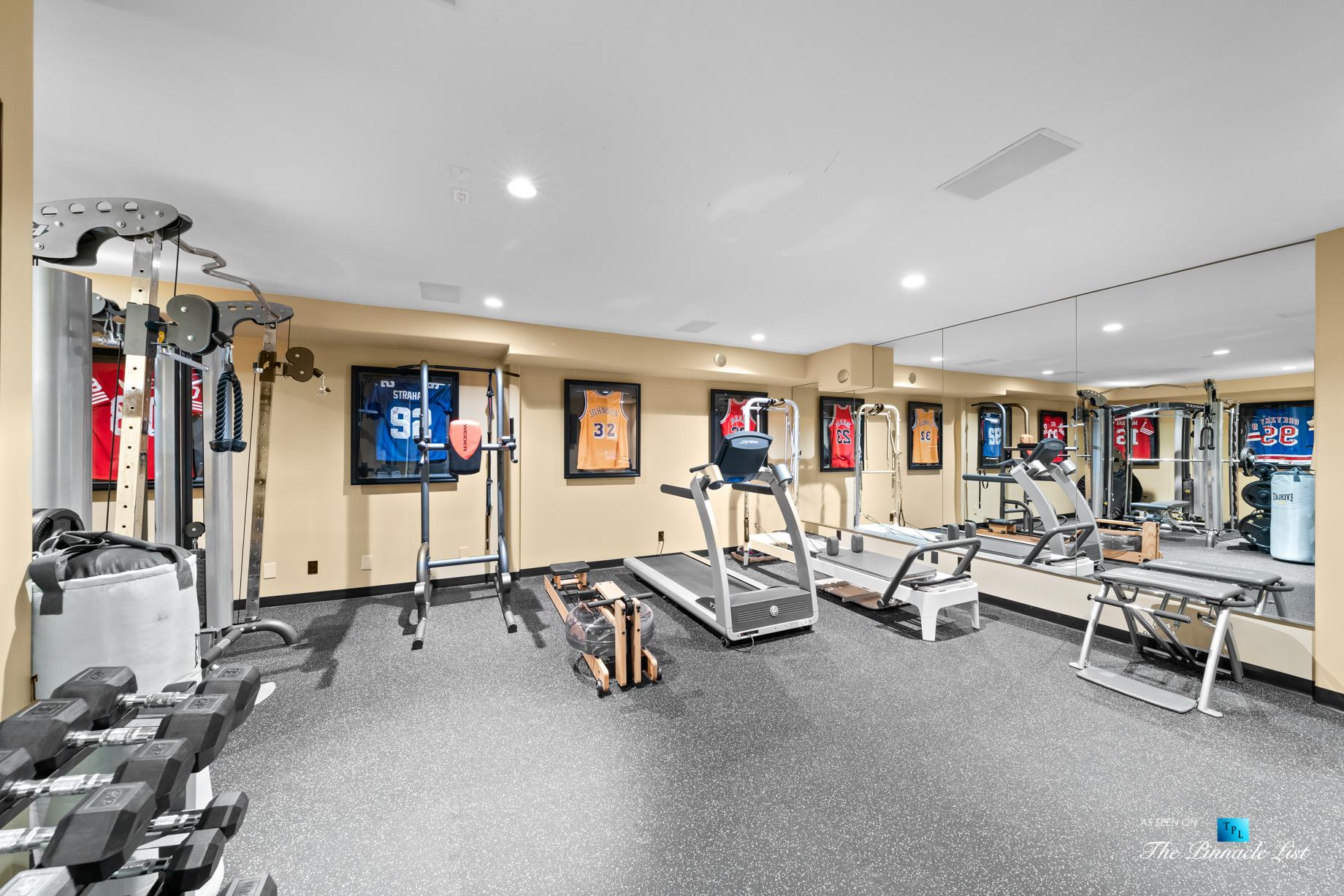 216 7th St, Manhattan Beach, CA, USA – Luxury Real Estate – Coastal Villa Home – Basement Gym