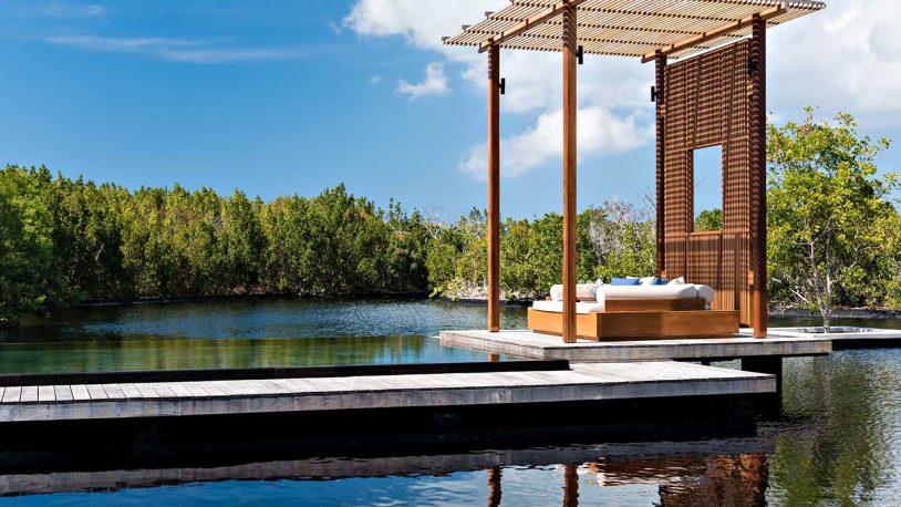 Amanyara Luxury Resort - Providenciales, Turks and Caicos Islands - 4 Bedroom Tranquility Villa Infinity Pool Lounge