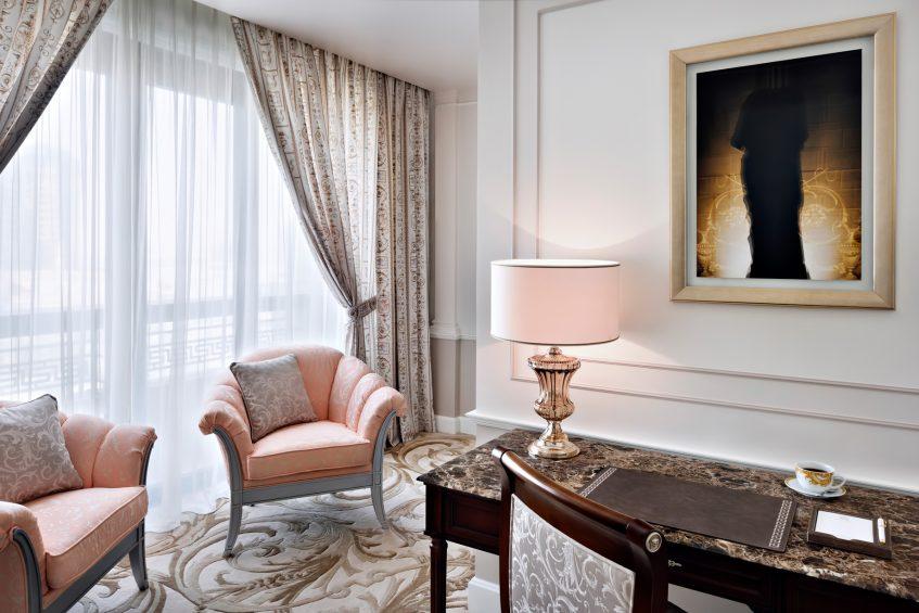 Palazzo Versace Dubai Hotel - Jaddaf Waterfront, Dubai, UAE - Junior Suite Study