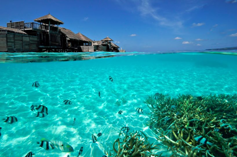 Gili Lankanfushi Luxury Resort - North Male Atoll, Maldives - Overwater Villa Underwater View