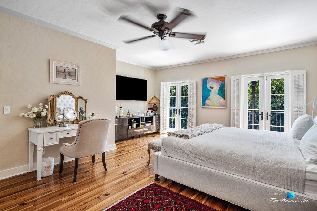 Addison Mizner Old Floresta Home – 888 Oleander St, Boca Raton, FL, USA - Master Bedroom