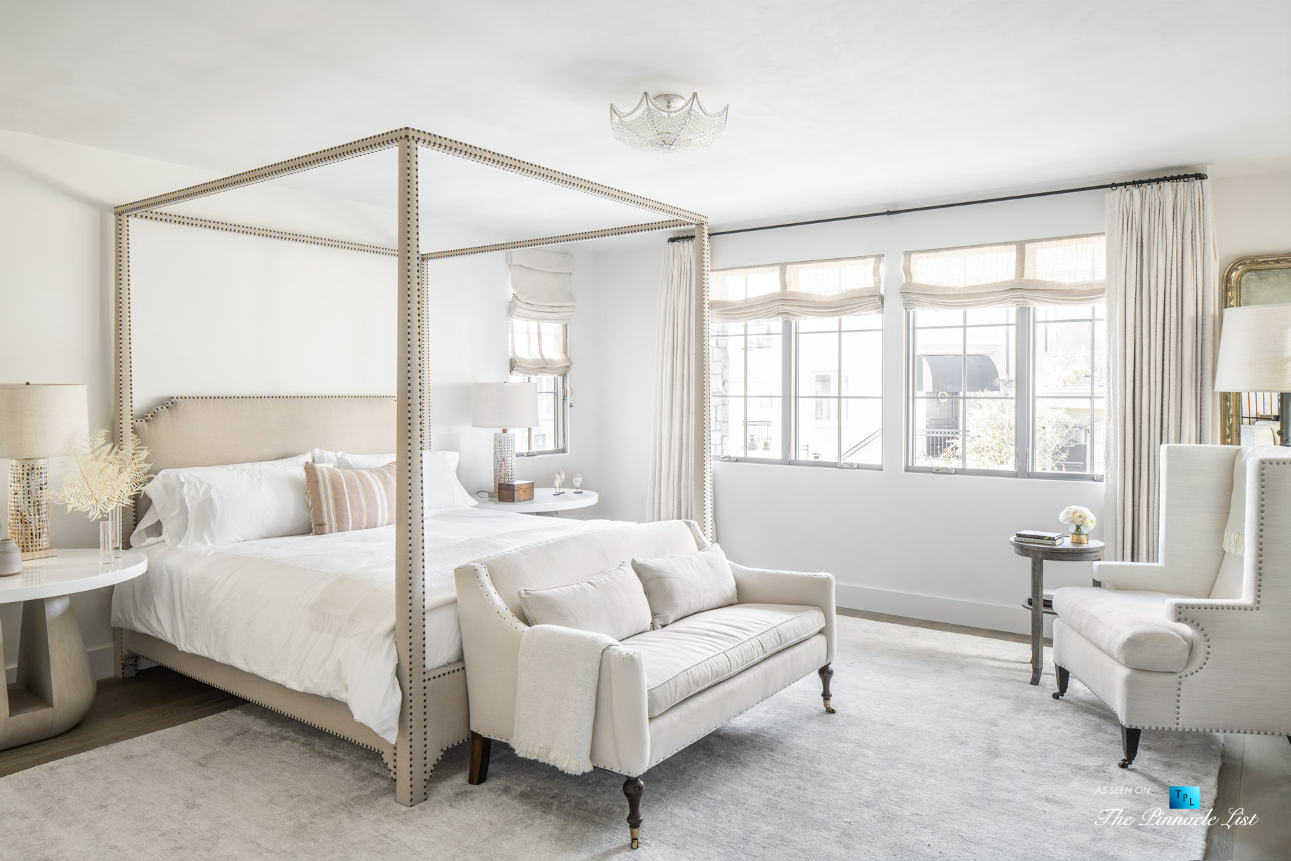 Exquisite Luxury Walk Street Home – 220 8th St, Manhattan Beach, CA, USA – Master Bedroom