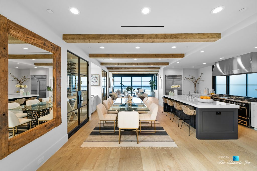 Modern Luxury on The Strand - 508 The Strand, Manhattan Beach, CA, USA - Dining Room and Kitchen