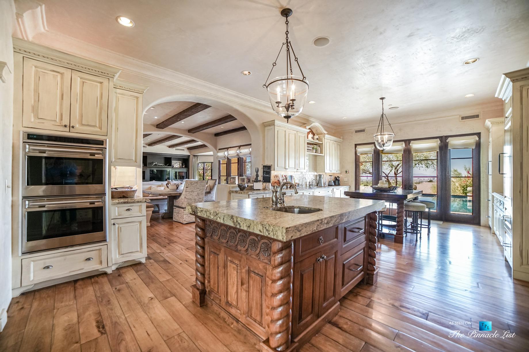 Spanish Colonial Biltmore Mountain Estate – 6539 N 31st Pl, Phoenix, AZ, USA – Kitchen