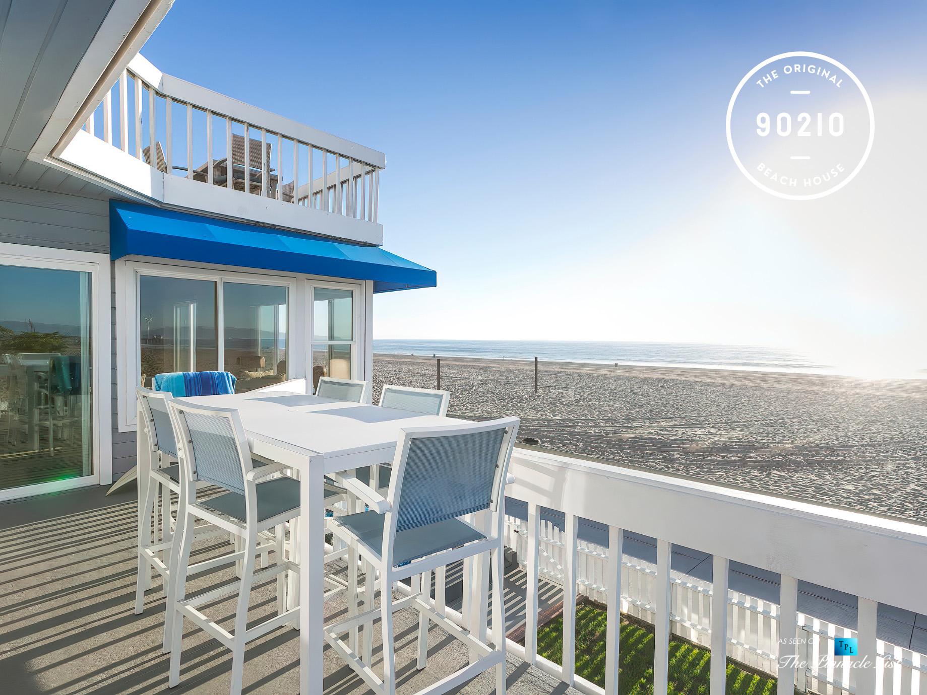 The Original 90210 Beach House – 3500 The Strand, Hermosa Beach, CA, USA – Ocean View Deck