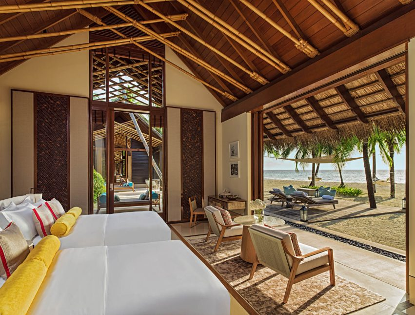 One&Only Reethi Rah Luxury Resort - North Male Atoll, Maldives - Two Villa Residence Master Bedroom