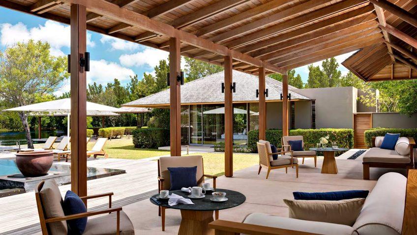 Amanyara Luxury Resort - Providenciales, Turks and Caicos Islands - 4 Bedroom Tranquility Villa Pool Terrace
