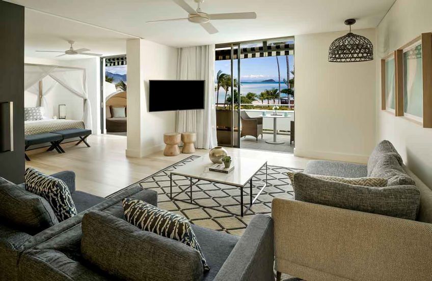 InterContinental Hayman Island Resort - Whitsunday Islands, Australia - Two Bedroom Pool Ocean View Suite Lounge Area
