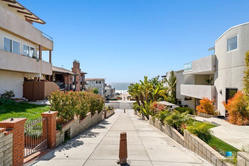 216 7th St, Manhattan Beach, CA, USA - Luxury Real Estate - Coastal Villa Home - Beach Path