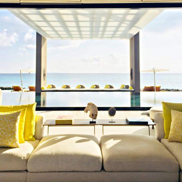 Cheval Blanc Randheli Luxury Resort - Noonu Atoll, Maldives - Infinity Pool Ocean View