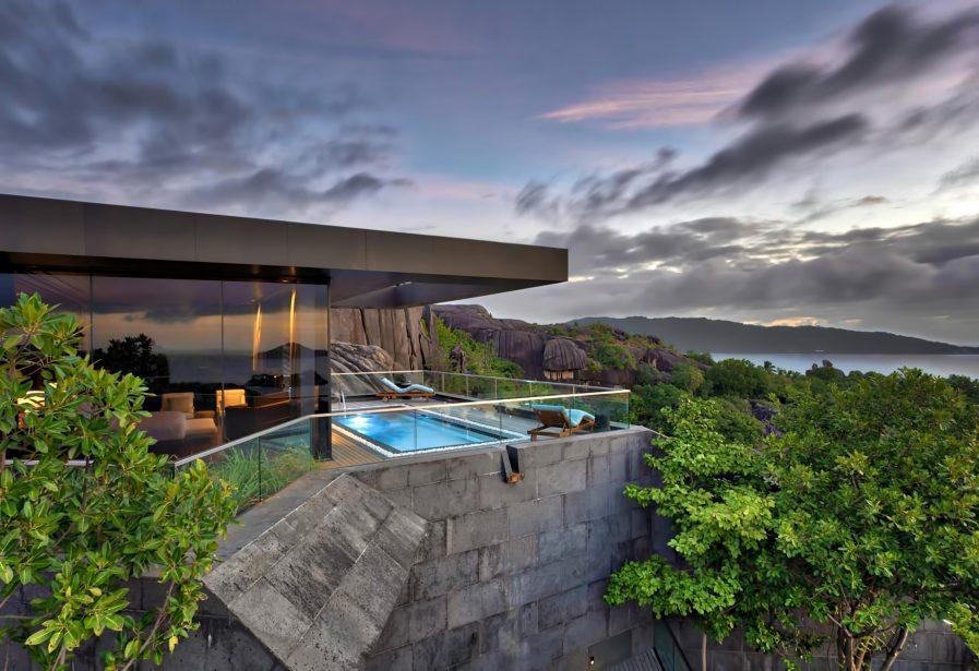 Six Senses Zil Pasyon Luxury Resort - Felicite Island, Seychelles - Four Bedroom Residence Master Pool Deck