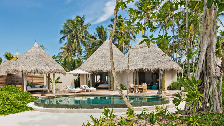 The Nautilus Maldives Luxury Resort - Thiladhoo Island, Maldives - Beach House